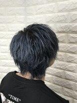 【Aura野田阪神】王道ウルフ× ネイビーカラー