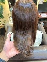 キャラ 池袋本店(CHARA)4回目の髪質改善でエイジング毛もうるうる艶々【貴也/髪質改善】