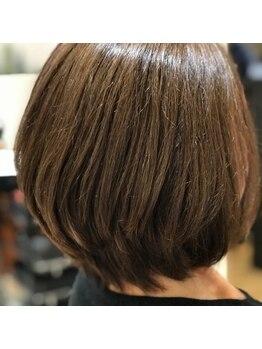 エン(enn)の写真/髪と頭皮に優しい薬剤でしっかり染めて自然な仕上がりに☆あなたの大切な髪を守りながら好みのカラーへ♪