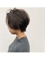 マイ ヘア デザイン(MY hair design)頭の形がキレイに見えてボリュームもふわっとでるショートヘア