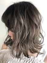 ◆W gradation color【Lots of natural highlights】2process