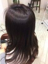 ヘアー フリカケ(Hair furicake)艶感☆オーガニックダークカラー