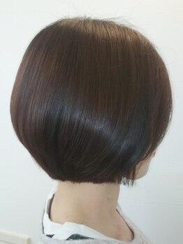 """ヘアーメイク スプラウト(hair make sprout)の写真/【網干】髪と頭皮に優しい天然由来成分配合のオーガニックカラー★ナチュラルな""""大人ヘルシーヘア""""が叶う♪"""