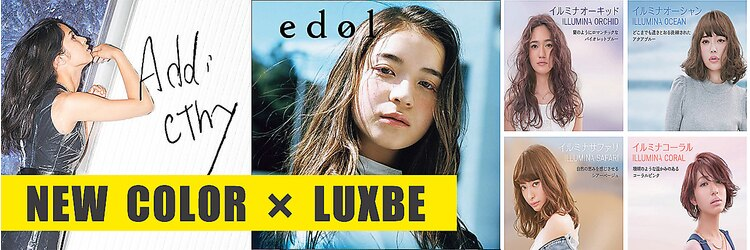 エルオーケー ラックスビー(L.O.K LUXBE)のサロンヘッダー