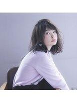 ガーデントウキョウ(GARDEN Tokyo)【富山大介】小顔カット×スタイリング簡単パーマミディ
