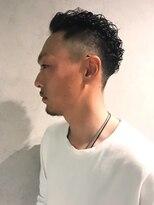 ◇刈り上げハードパーマ◇