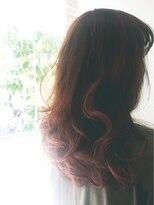ヘアーアンドメイク ポッシュ 日暮里店(HAIR&MAKE POSH)The wave that is compared with light