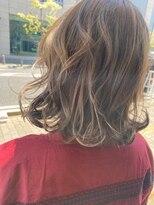 ヘアーアンドメイク ジズー(hair&make zizou)[ハイライト ベージュ]