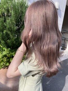 サロンドミルク 新百合ヶ丘店(salon de MiLK)の写真/髪質に合わせて選択できるAujuaトリートメント♪自分史上最高に美しく髪質改善♪[髪質改善/新百合ヶ丘]