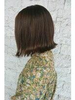 トリコ ヘアアンドケアスペース(trico hair&care space)trico togo シンプル外ハネBOB