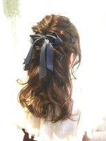 ヘアーチヒロズウィッシュ(Hair CHIHIRO's wish)【素敵美人】女子力アップなハーフアップスタイル
