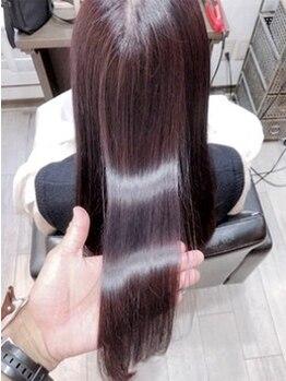 アーレル(Arlel)の写真/【ヘアケア特化】髪の最深部から修復し本来の輝きを。少数のサロンのみ取扱い可能な《oggiotto》で髪質改善