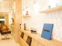 オーブ ヘアー ラテ 広島3号店(AUBE HAIR latte)の雰囲気(開放感のある明るい店内で、くつろぎの時間をお過ごしください。)