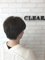 ヘアーアンドメイククリアー(Hair&Make CLEAR)耳かけショートスタイル