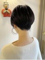 ベックヘアサロン 広尾店(BEKKU hair salon)くびれクールショートスタイル