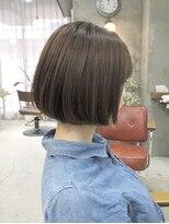 エトネ ヘアーサロン 仙台駅前(eTONe hair salon)【河村指名のお客様ヘアスタイル】 乾かすだけでまとまるボブ