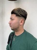 ヘアー アイス カンナ(HAIR ICI Canna)スキンフェード ハイライトカラー