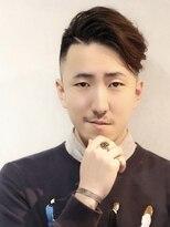 コンフィデンス メンズヘアー(confidence MEN'S HAIR)フェードパーマ×エッジライン confidence -MEN'S HAIR-