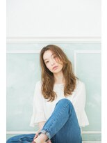 ヘアーサロン リアン 鴻巣店(hair salon Rien)セミウエット仕上げ☆パーマスタイル
