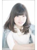 エトネ ヘアーサロン 仙台駅前(eTONe hair salon)【エトネ】ニュアンスワンカールミディ