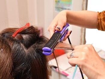 ビューティーアンドヘルスセブン(beauty&health seven)の写真/本来のくせ毛を感じさせない自然なストレートを実現☆何度も触れたくなるようなサラサラな仕上がりに。