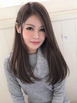 ワンエルディーケー ヘアルーム(1LDK Hair Room)の写真/ハイダメージな髪もしっとり&サラサラヘアに!髪質改善ストレートエステで髪そのものに潤いを★【春日】