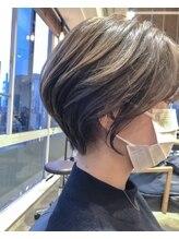 ラボヌールヘアーロア 草加店(La Bonheur hair roi)絶対に似合うショート/ショートパーマ