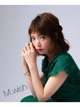 エムウィッシュ(M Wish)簡単アレンジ☆愛されミディアムヘア