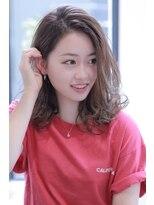 【Charme】日紫喜清矢 簡単スフレミディ♪ 20代30代 小顔ヘア
