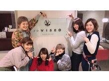 ピーディーヴィセオヨンプラ(PD VISEO)の雰囲気(女性スタイリストが多く在籍!!)