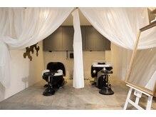 スイート ヘアデザイン(Suite HAIR DESIGN)の雰囲気(半個室フルフラットシャンプー台YUME。鹿児島/天文館の異空間。)