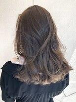 ナナナパレナ 梅田店(nanana parena)柔らか質感&透明感溢れるベージュ*髪質改善サロンの艶髪カラー