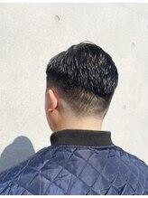 ヘアーサロン タカヒロ(Hair Salon TAKAHIRO)フェードカット