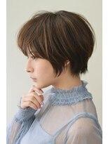 ヘアーワーク オーパス(HAIR WORK OPUS)ナチュラルキュートな小顔ショート《杉田 あかり》