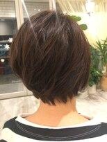 ヘアー カラー キー(HAIR color KEY)大人可愛いマッシュ・ショートボブ
