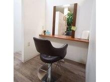 美容室 カノン(Kanon)の雰囲気(全ての席が半個室で周りが気になりにくいプライベート空間です。)