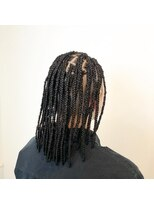 ブラックヘアー Braids