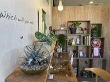 アンティム(untime)の雰囲気(花器、雑貨、アクセサリー、植物なども販売してます。)