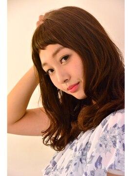 ヘアーデザイン ミヤビ 広尾(HAIR DESIGN MIYABI)フェミニン☆ほつれウェーブS