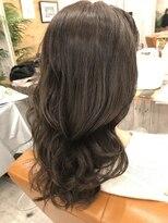ロア ヘアーコーディネイト 烏丸店(LoRE hair coordinate)ブリーチなしアッシュグレー
