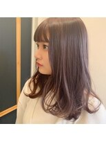 レジーロ (Regilo)☆ラベンダーグレージュ☆パツッと前髪☆