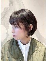 ウノプリール 西梅田ハービスプラザ店(uno pulir)大人きれいなショートボブ☆ショートレイヤー