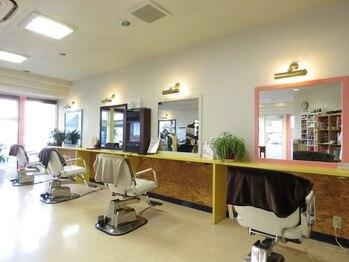 美容室 ステラの写真/マンツーマン施術で担当が変わる心配なし◎一人ひとりの髪質やクセを見極め、似合せのスタイルをご提案!