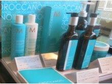 アレア(aller.a)の雰囲気(モロッカンオイルなどヘアケア剤も多数取り扱い有。)