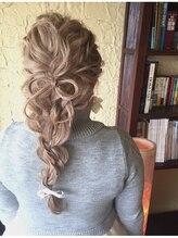 ヘアープレンデレ(hair Prendere)リボンアレンジ