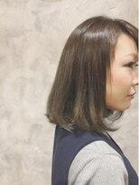 ボヌールヘア(BONHEUR HAIR)ボヌールヘアー 綾瀬【YUKIE】グレイジュ