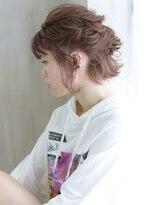 ヘアアンドメイク アリス(hair&make ALICE produce by COLT)ショートボブ&アレンジ