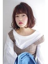 ヘアリゾート リアン(hair resort Lien)ボブ×ベリーピンク ☆Lien☆ 倉田