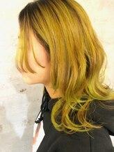 アティック ヘアーデザインアンドリラクゼーション(attic hair design&relaxation)ライムカラー!