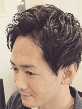 シックス ヘアー オノダ(Six HAIR ONODA)の写真/毎週木・金は23:00まで受付中!!仕事帰りにサッと寄れる、メンズの為の頼れるサロン【Six HAIR ONODA】